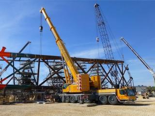 Sollevamento strutture industriali