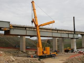Sollevamenti per varo viadotti A19-CL-AG