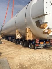 Trasporto colonna impianto ISAB Priolo
