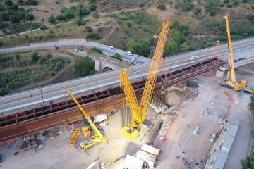 Viadotto Himera PA-CT Gradito Oleodinamica