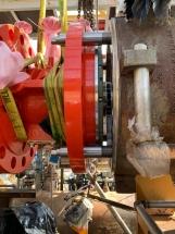 Istallazione Turbo Expander presso stabilimento Versalis