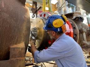 Istallazione Turbo Expander presso stabilimento Versalis-Gradito