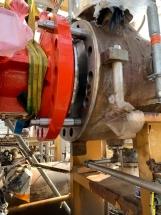 Istallazione Turbo Expander presso stabilimento Versalis- Gradito Oleodinamica Gela